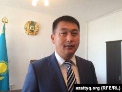 Нағымжан Алдияров, Ақтөбе қаласы әкімінің орынбасары. 19 қыркүйек 2017 жыл.