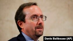 John Bass, a career Senior Foreign Service officer, is the U.S. Ambassador to Afghanistan.