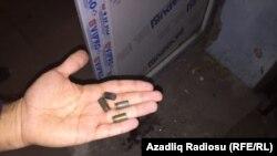 Plumba te gjetur gjatë sulmeve.