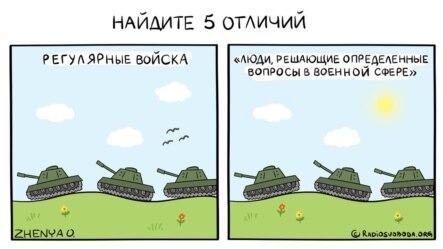 Політична карикатура Євгенії Олійник