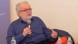Lucian Ștefănescu în dialog cu George Banu