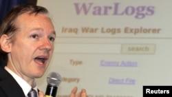 Wikileaks сайтынын негиздөөчүсү Жулиан Ассанж.