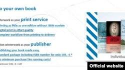 """""""Winterwork"""" ödənişli əsasda kitab çap edən """"self-publishing"""" tipli nəşriyyatdır"""