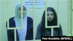 Саида Халикова (слева) и Елена Аршаханова