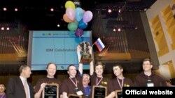 Победители международного чемпионата мира по программированию из Санкт-Петербурга
