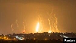 غارات اسرائيلية على غزة