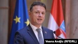 Սերբիա - Խորվաթիայի խորհրդարանի խոսնակ Գորդան Յանդրոկովիչը Բելգրադում, 18-ը ապրիլի, 2018թ.