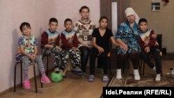 Ильсияр Валиева и ее дети