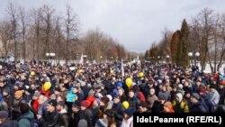 Казанда коррупциягә каршы митинг, 26 март, 2017