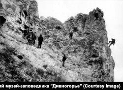 Большие Дивы были тренировочной площадкой для альпинистов