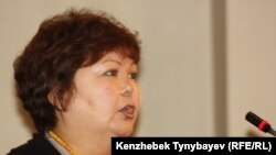 "Tamara Yeslyamova, Editor-in-Chief of ""Uralskaya nedelya"" newspaper, which has been blocked since November 2."