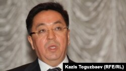 Председатель агентства по делам религий Кайрат Лама Шариф. Алматы, 4 марта 2013 года.