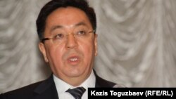 Кайрат Лама Шариф, председатель Агентства Казахстана по делам религий. Алматы, 4 марта 2013 года.