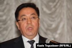 Дін істері агенттігінің басшысы Қайрат Лама Шариф. Алматы, 4 наурыз, 2013 жыл