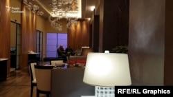 Журналісти помітили охоронців Богдана й Коломойського біля приватної кімнати ресторану