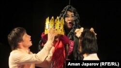 Кыргыз драма театрынын артисттери
