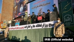 رزمایش «دفاع زیستی» بسیج وزارتخانهها و ادارات فروردین ۹۹ در تهران برگزار شد.