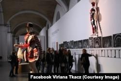 Вірляна Ткач у Мистецькому арсеналі у Києві показує декорації вистав Курбаса