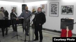 Изложба на Друштвото на ликовните уметници на Кавадарци.