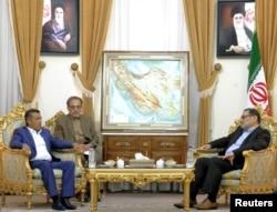 دیدار علی شمخانی با نائف خائف، فرستاده حوثیها، در تهران