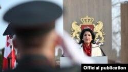 Саломе Зурабишвили – первая президент-женщина в истории Грузии