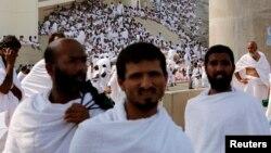 په سعودي عرب کې د حج مراسم.
