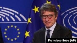 European Parliament President David Sassoli