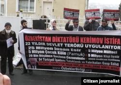 8 декабр кунги Истанбулдаги пикет
