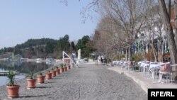 Плажа во Охрид