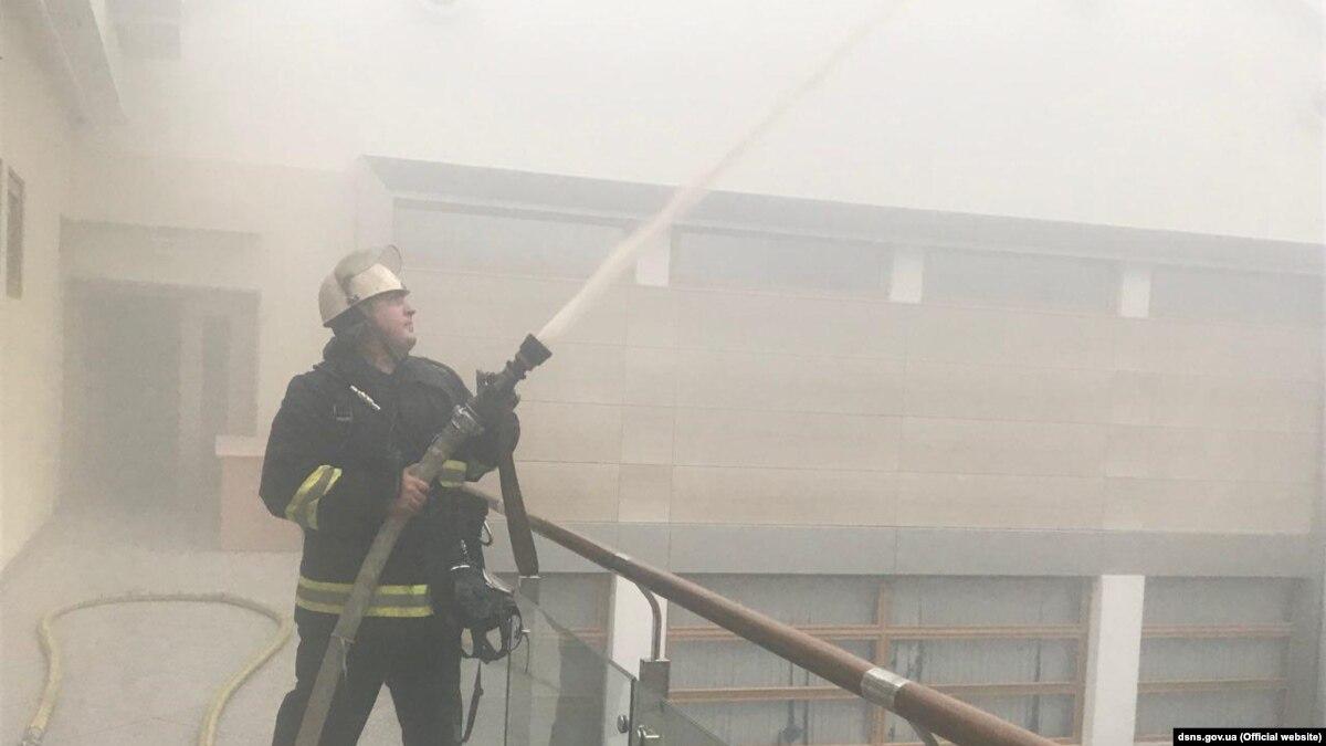 В Канаде сгорел украинский культурный центр