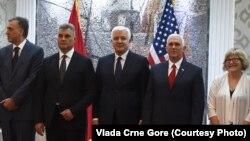 Потпретседателот на САД Мајк Пенс во официјална посета на Црна Гора, Подгорица 01.08.2017.