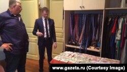 Обыск в доме бывшего главы ФТС Андрея Бельянинова, архивное фото