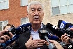 Президенттікке кандидат Әміржан Қосанов.