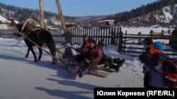Челканцы на Алтае