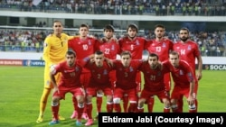 Azerbaijan -- Baku. Azerbaijan - Croatia soccer game in Baku, 3 September 2015