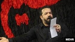 محمود کریمی، از مداحان نزدیک به رهبر جمهوری اسلامی.