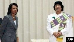 دیدار کاندولیزا رایس از لیبی