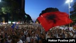 Opozicioni protesti u Tirani, ilustrativna fotografija