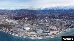 Սոչիում կառուցվող Օլիմպիական ավանը