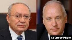 Աղվան Հովսեփյան և Ալեքսանդր Բաստրիկին