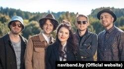 Вокладка альбому Naviband «Адной дарогай», фрагмэнт