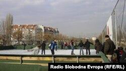 Новото лизгалиште во Куманово.