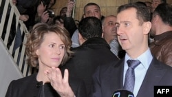 Башар Асад з жонкай