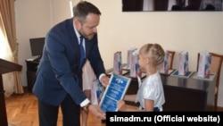 Нагородження учасників конкурсу «Збережемо уми Росії»
