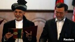رئیس جمهور غنی و سرور دانش
