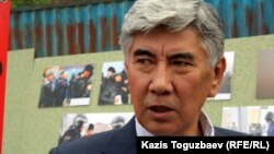 ЖСДП төрағасы Жармахан Тұяқбай. Алматы, 15 мамыр 2012 жыл.