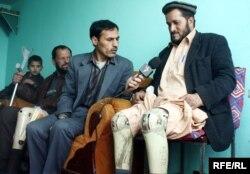 آرشیف، صحبت شماری از معلولان با خبرنگار رادیو آزادی در کابل