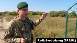 Андрій Дикий, начальник відділу Держприкордонслужби України