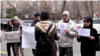 Armenia -- A protest near the Iranian embassy in Yerevan. 19 March, 2019