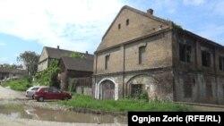 Бывший трудовой лагерь Топовске-Шупе, пригород Белграда